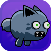 Flappy Zombie Cat icon