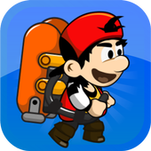 Jetpack Boy Game icon