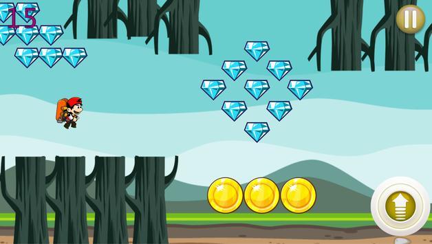 Jetpack Boy Game screenshot 2