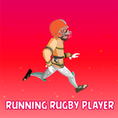 Run Rugby Player icon