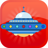 Flying Spaceship Game icon
