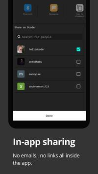 Dcoder, Compiler IDE :Code & Programming on mobile screenshot 7