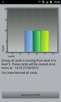 Flash Card Quiz screenshot 1