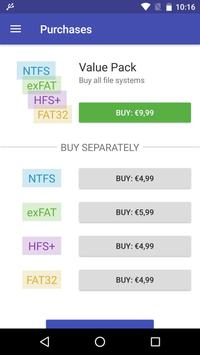 exFAT/NTFS for USB by Paragon Software captura de pantalla 1