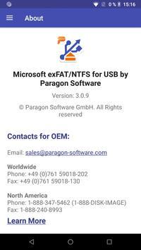 exFAT/NTFS for USB by Paragon Software captura de pantalla 6