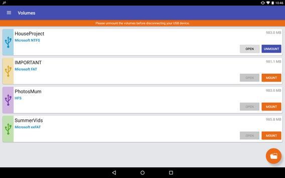 exFAT/NTFS for USB by Paragon Software captura de pantalla 7