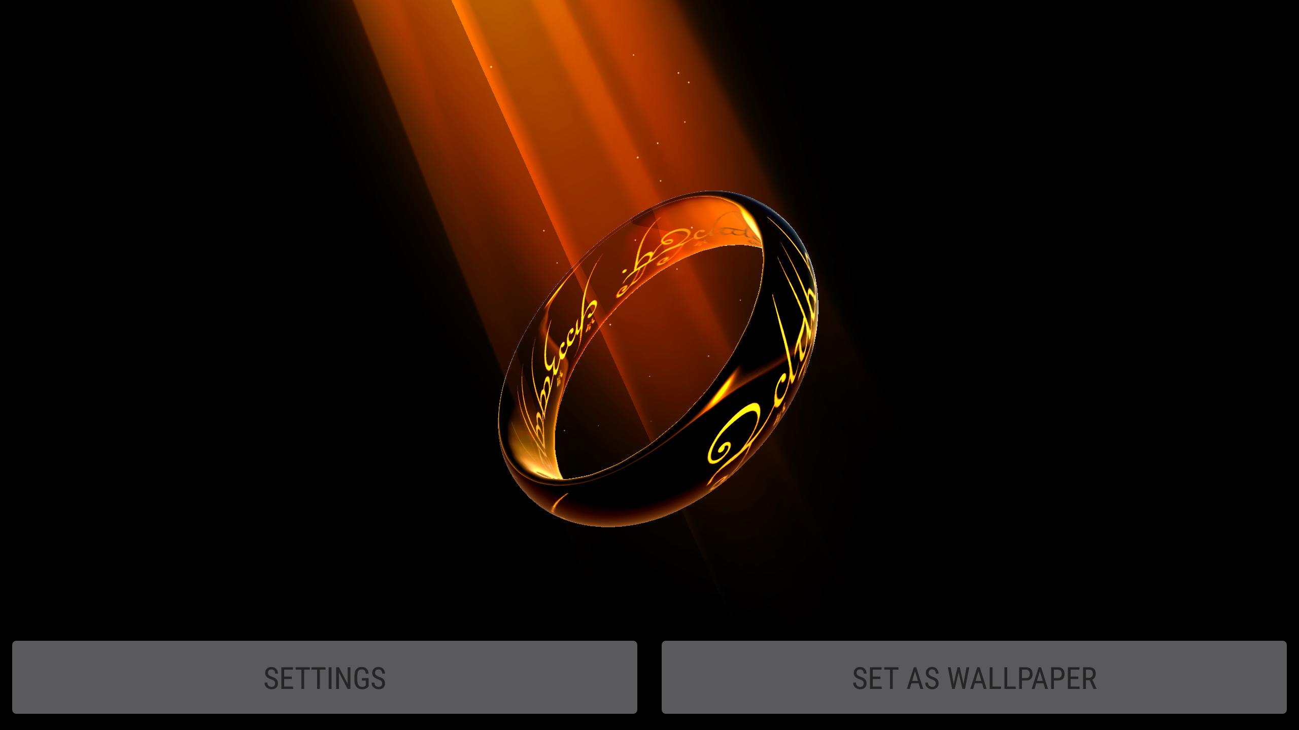 Magic One Ring Parallax 3d Live Wallpaper For Android Apk Download