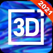 3D Live Wallpaper icono