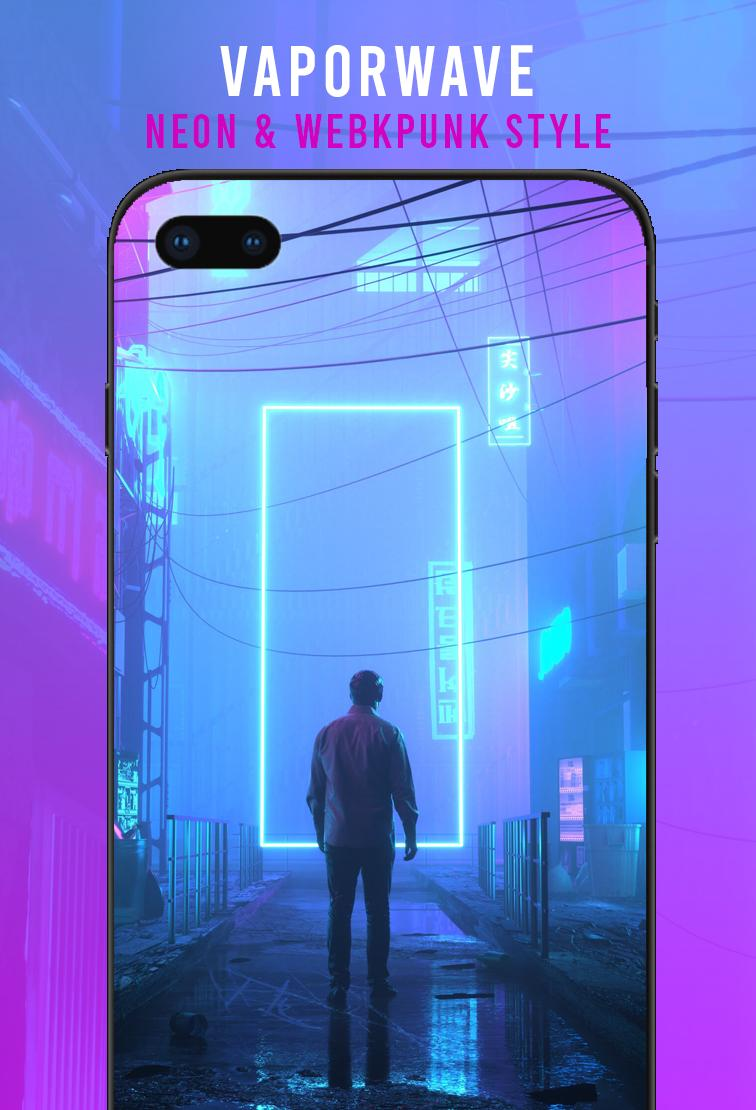 Retrowave Wallpapers Prallax Live 80s 4d Wallapp For Android Apk Download