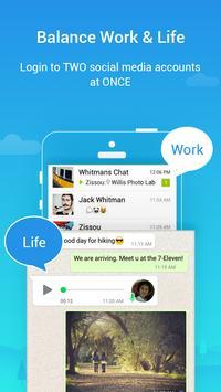 Parallel Space Lite-Dual App скриншот 2