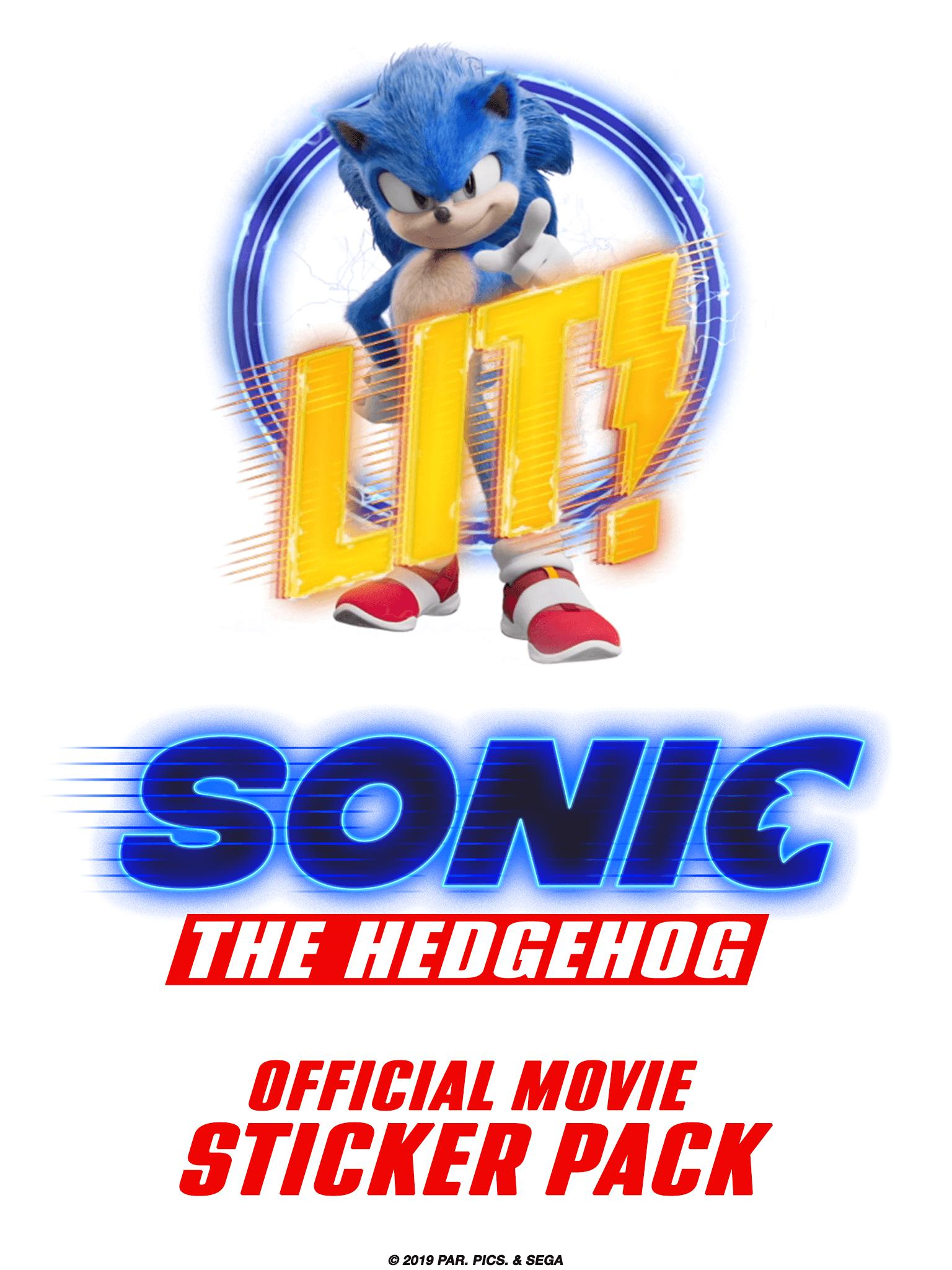 Official Sonic Movie Stickers For Android Apk Download
