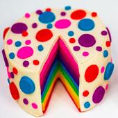 Cake Designs Idea Rainbow icon