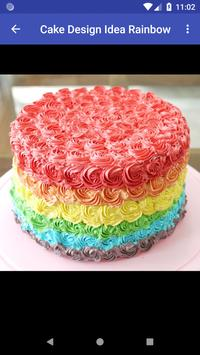 Cake Designs Idea Rainbow screenshot 2