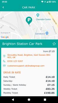 Saba Parking UK screenshot 2