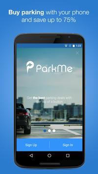 INRIX ParkMe Poster