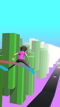 Sky Parkour Roller capture d'écran 3