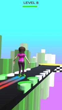 Sky Parkour Roller capture d'écran 2