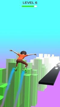 Sky Parkour Roller capture d'écran 4