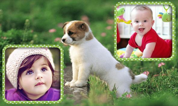Animal Dual Photo Frame screenshot 1