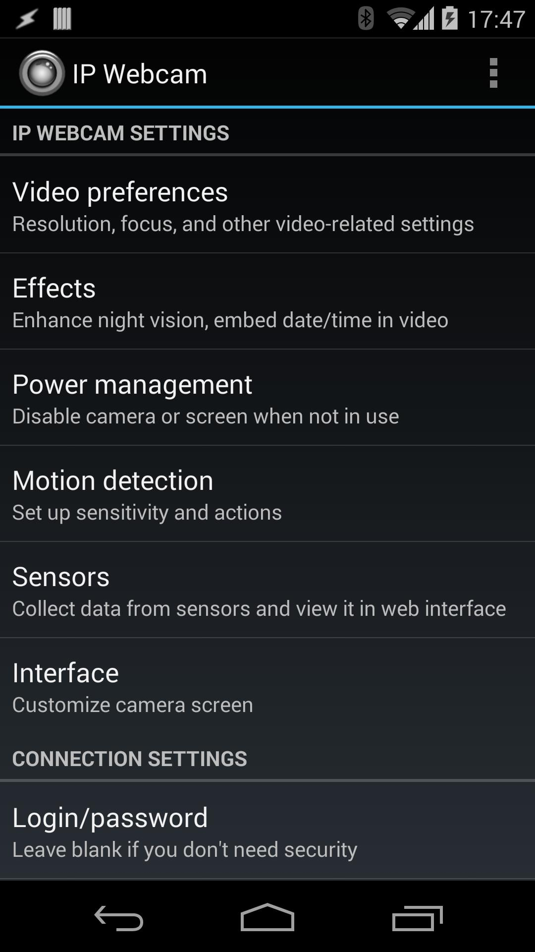 IP Webcam for Android - APK Download
