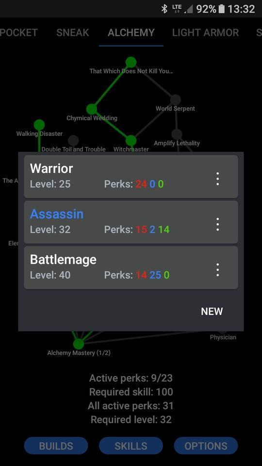 Skyrim Perk Calculator for Android - APK Download