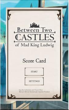 Between Two Castles Score Card screenshot 1