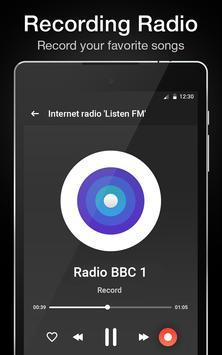 """Internet radio """"Listen FM"""" screenshot 10"""