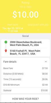 Pet Taxi App screenshot 14