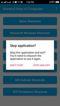 Shortcut Keys of Computer screenshot 3