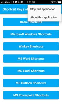 Shortcut Keys of Computer screenshot 4