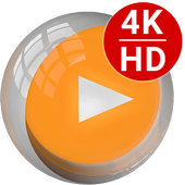 All Format 4K Video Player Cast to TV CnX Player アイコン