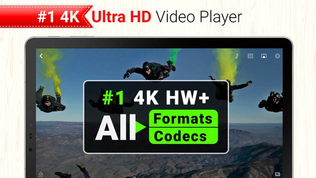 All Format 4K Video Player Cast to TV CnX Player スクリーンショット 8