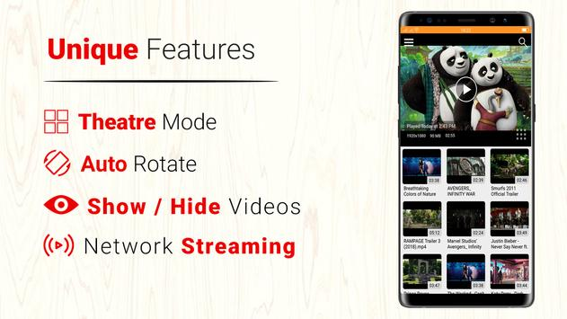 All Format 4K Video Player Cast to TV CnX Player ポスター