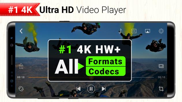 All Format 4K Video Player Cast to TV CnX Player スクリーンショット 2