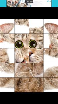 Puzzle Cute Cat capture d'écran 1