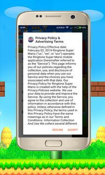Ringtone Super Mario poster