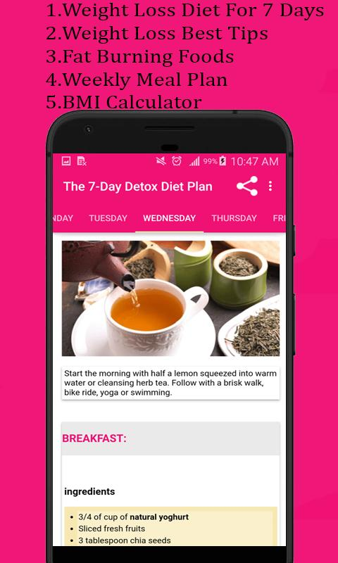 Detox diet plan for Android - APK Download
