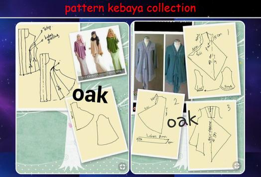 Pattern kebaya collection poster