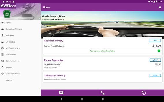 PTC E-ZPass screenshot 6