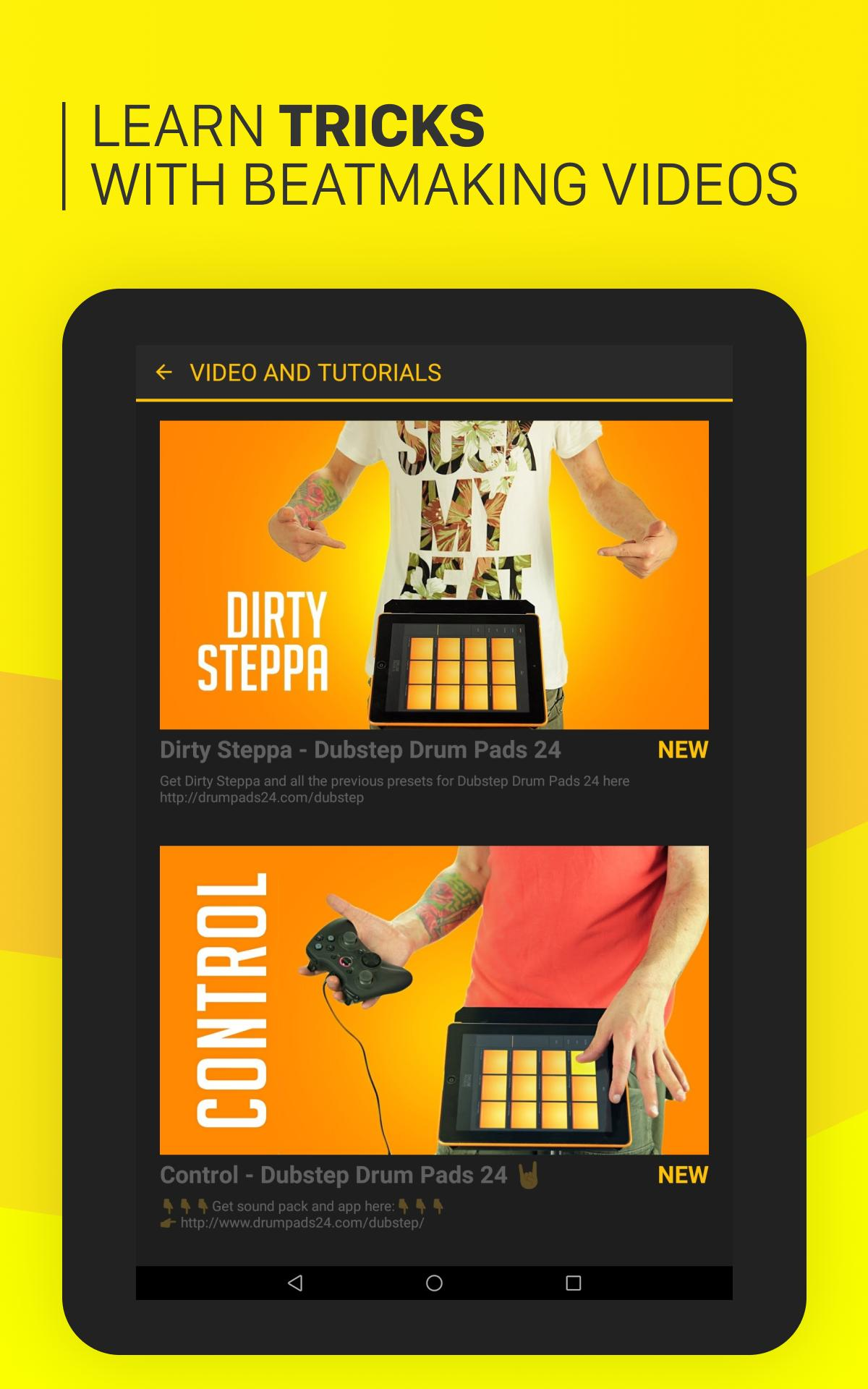 Dubstep Drum Pads 24 for Android - APK Download