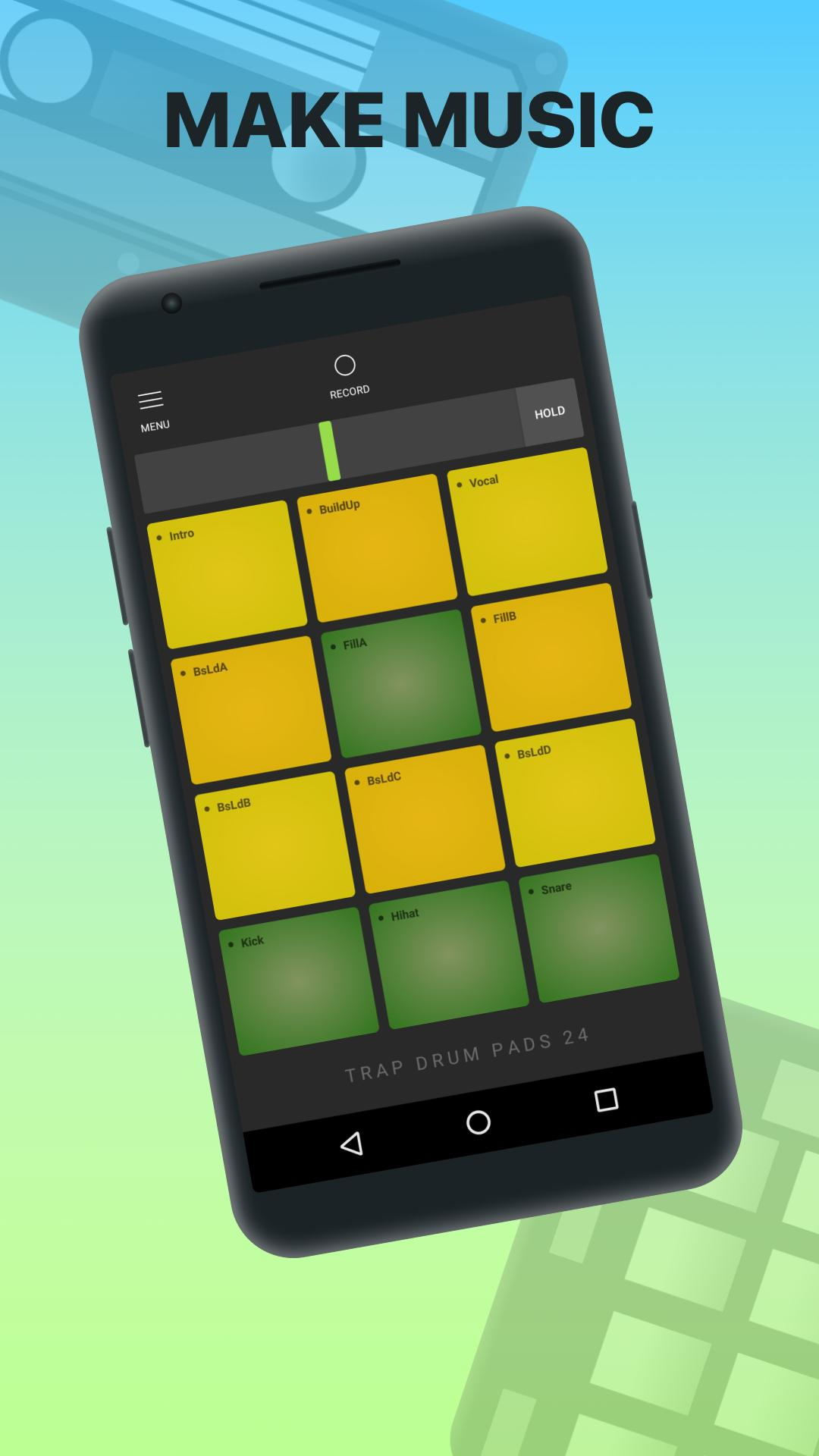 Trap Drum Pads 24 for Android - APK Download