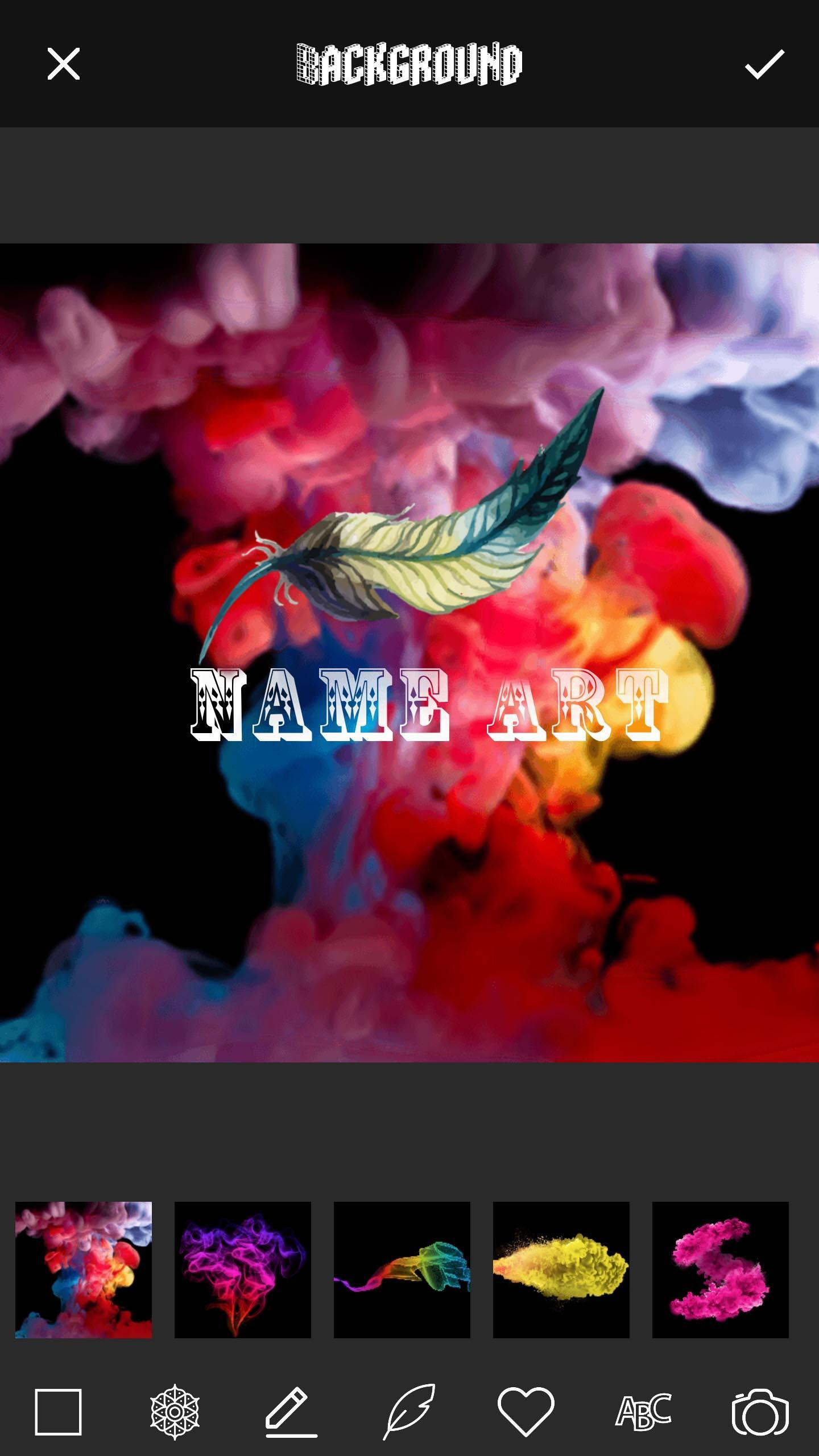 3D Smoke Effect Name Art Maker For Android APK Download