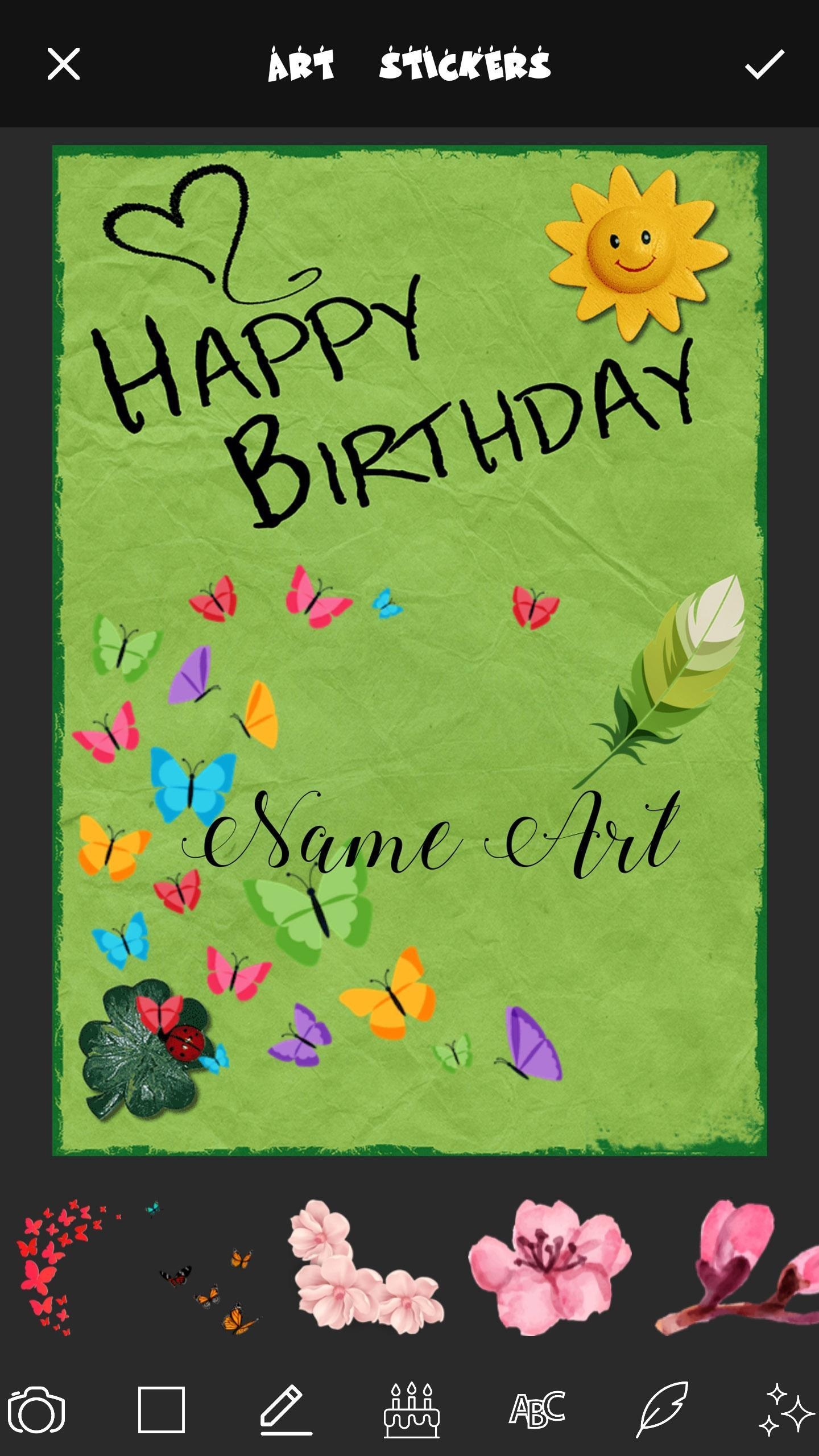 Wondrous Birthday Cards Name Art Maker For Android Apk Download Funny Birthday Cards Online Inifofree Goldxyz