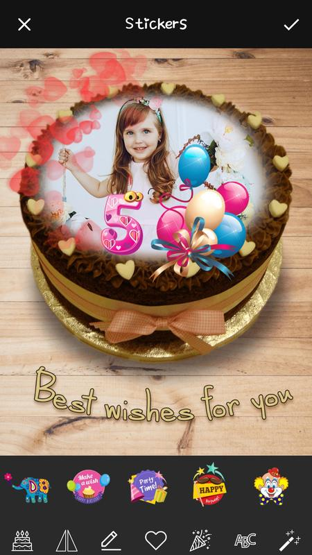 Name Art On Birthday Cake Focus Filter Maker App Pour Android