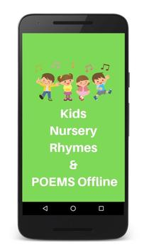 Kids Nursery Rhymes & Poems Offline poster