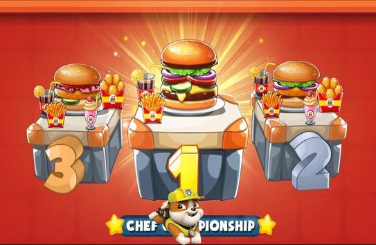 Paw Burger Chef Patrol screenshot 8