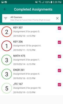 Homework Trackr. screenshot 2
