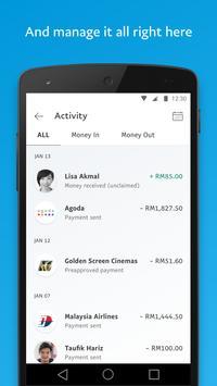 PayPal syot layar 4
