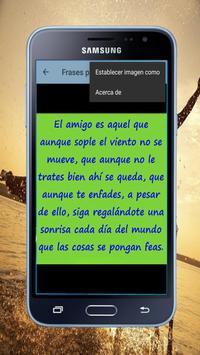 Frases para Amigos screenshot 6