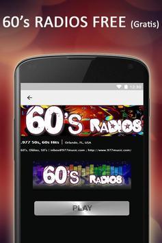 Free 60s & 50s Radios Music screenshot 2